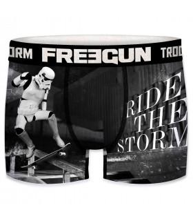 Boxer Homme  Freegun Storm Trooper Skate Noir