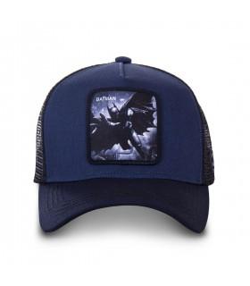casquette trucker Capslab DC Comics Batman Bleu Marine