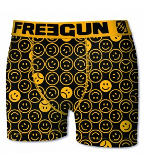 Lot de 6 boxers Garçon Freegun Emotiks Multicolore