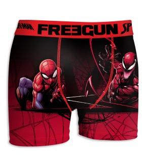 Boxer garçon Spider-Man Scorpion Rouge et Noir