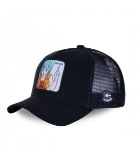 Men's Capslab Dragon Ball Z Bulma Black Trucker Cap