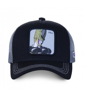 Casquette trucker Capslab Dragon Ball Z celluloid Noir
