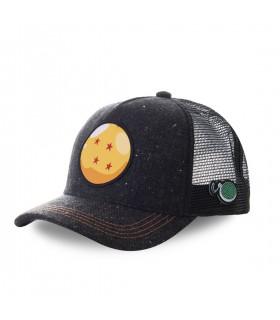 Men's Capslab Dragon Ball Z Ball Black Cap