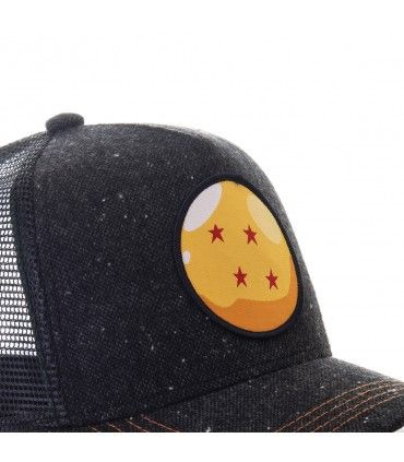 Dragon Ball Z Crystal Ball Black Cap with mesh