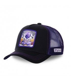 Casquette trucker Capslab Dragon Ball Z Frieza Noir
