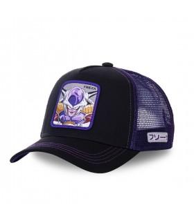Men's Capslab Dragon Ball Z Frieza Black Cap