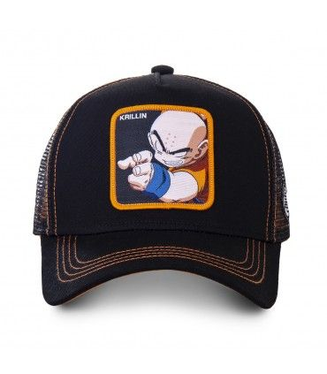 Dragon Ball Z Krillin Black Cap