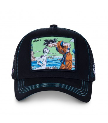 Dragon Ball Z Namek Black Cap with mesh