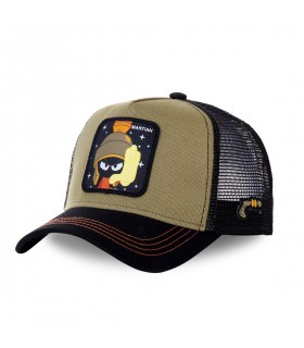 Looney Tunes Marvin the Martian Kakhi Trucker Cap