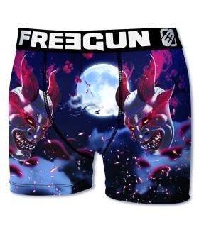 Boxer homme en microfibre Masque Freegun Multicoloree
