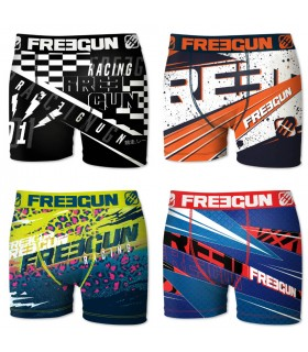 Boxers homme microfibre Packx4 Freegun E9