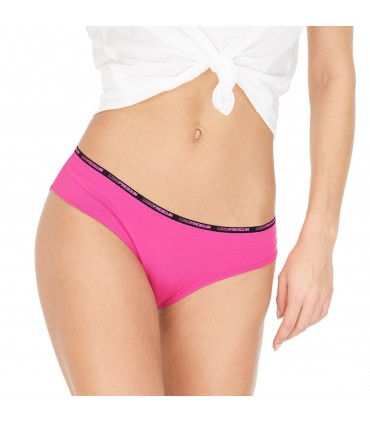 Boxer femme soft touch rose