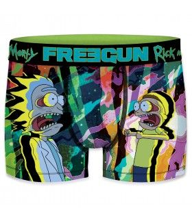 Pack de 4 boxers homme Freegun Rick and Morty G1