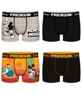 Pack de 4 boxers homme Freegun Disney G1