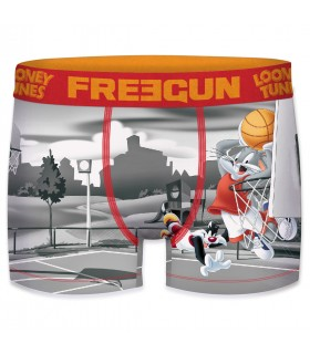 Boxer homme looney tunes freegun basket