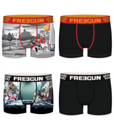 Pack of 4 men's Looney Tunes Boxers G1