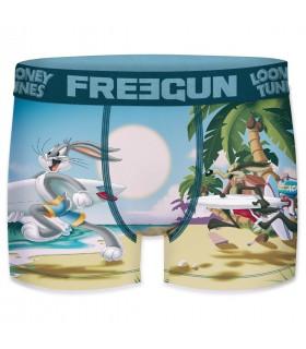Pack de 4 boxers homme Freegun Looney Tunes G2