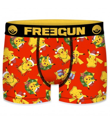 Pack of 5 boy's Pokemon Christmas Boxers G1