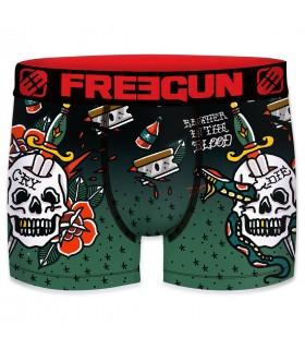 Boxers homme microfibre Packx5 Freegun E1