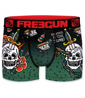 Pack de 5 Boxers homme microfibre Freegun E1