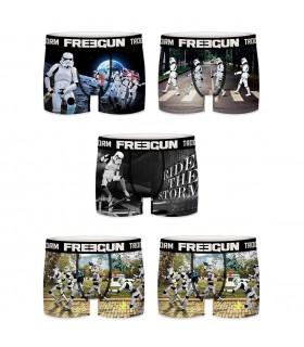 Lot de 5 Boxers Freegun homme Storm Trooper E3