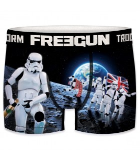 Boxers homme microfibre Packx5 Freegun Star Wars Storm Trooper E3