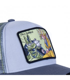 Casquette Capslab Dragon Ball Z 2 Cell Games Bleu