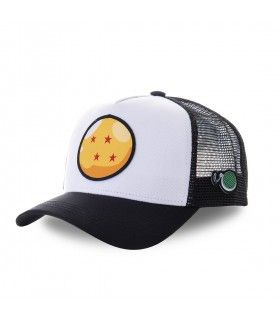 Dragon Ball Z Crystal White Cap with mesh