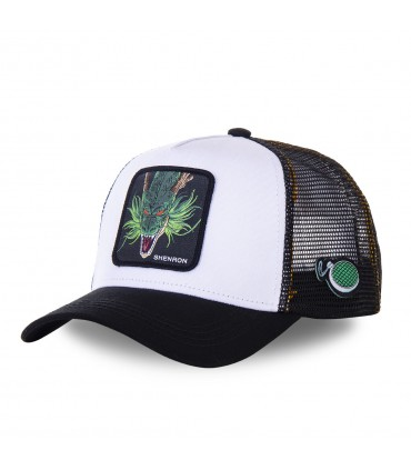 Dragon Ball Z Shenron White Cap with mesh