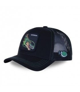 Dragon Ball Z Shenron Black Cap with mesh