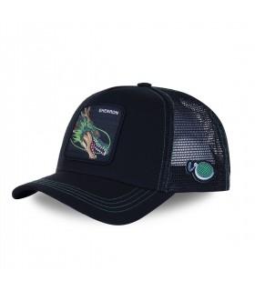 Men's Capslab Dragon Ball Z 3 Shenron Black Cap