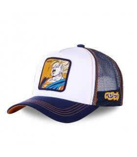 Men's Capslab Dragon Ball Z Vegito White Cap
