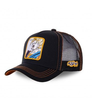 Dragon Ball Z Vegito Black Cap with mesh