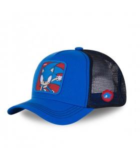 Casquette Capslab Sonic bleu