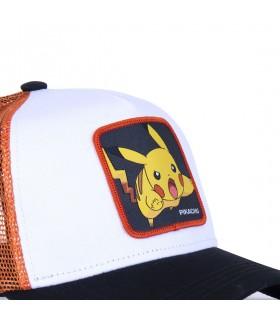 Casquette Capslab Pikachu blanc