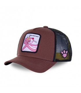 Casquette Capslab Pink panther Marron