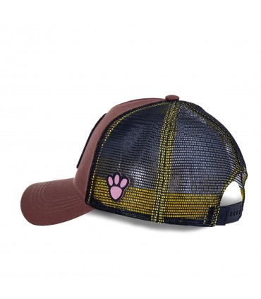 Pink Panther Brown Cap with mesh