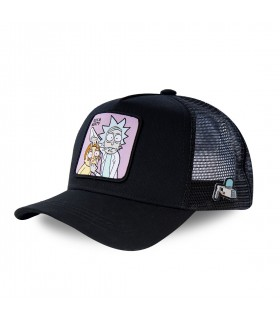 Rick and Morty Black Cap with mesh
