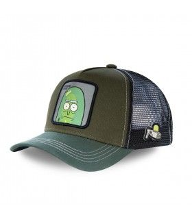 Rick and Morty Pickle Rick Kakhi Cap