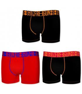 Lot de 3 Boxers homme Freegun FGBT G1