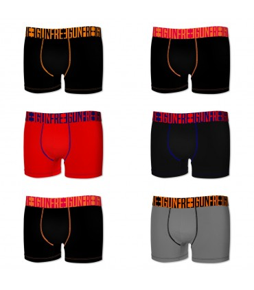 Pack of 6 men's Color Boxers G1