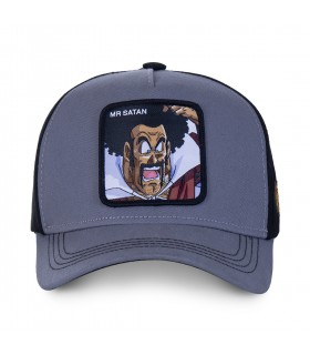 Casquette Capslab Dragon Ball Z Mr Satan Gris