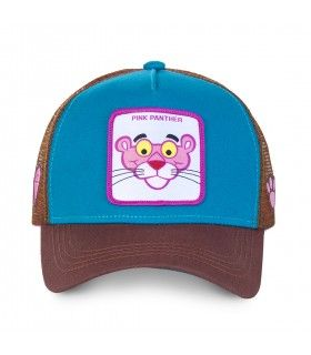 Casquette Capslab Pink panther Bleu
