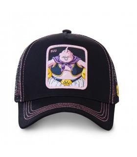 Casquette trucker Capslab Dragon Ball Z Buu Noir vue de face
