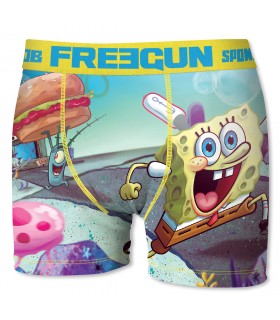 Men's Spongebob Run Boxer