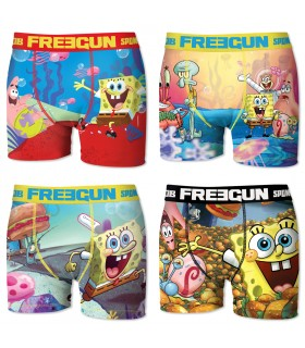 Pack of 4 men's Spongebob Boxers