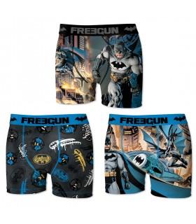 Boxers homme microfibre Packx3 Freegun DC Comics Batman E2