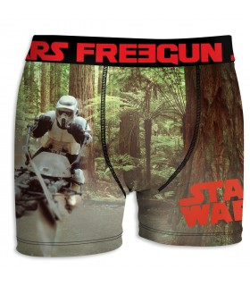 Boxer Homme Freegun Starwars Stormtrooper Marron