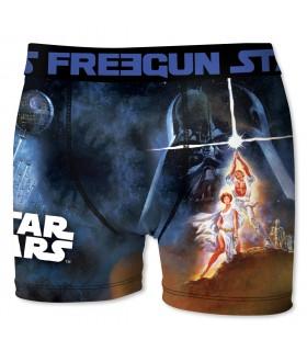 Boxer Garçon Freegun Star Wars Laser Bleu