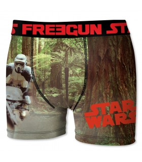 Boxer Garçon Freegun Star Wars Stormtrooper Marron